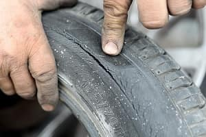 Pointing at Tire Rot