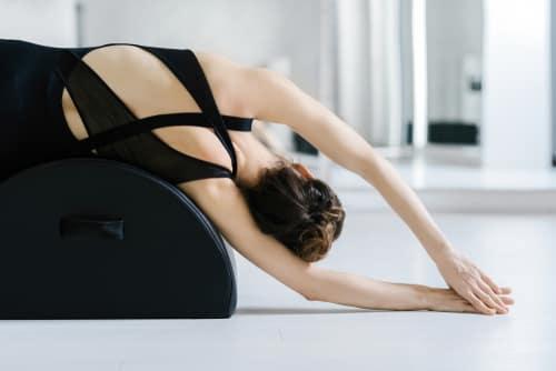 pilates streching