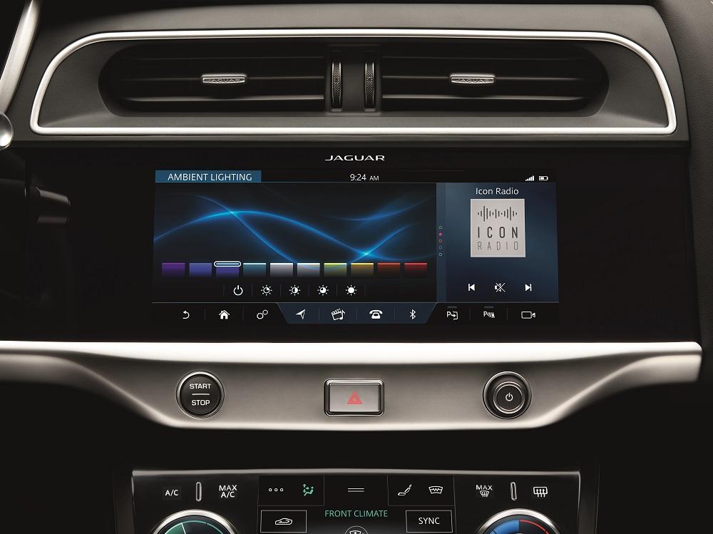 Jaguar I-PACE Innovative Technologies