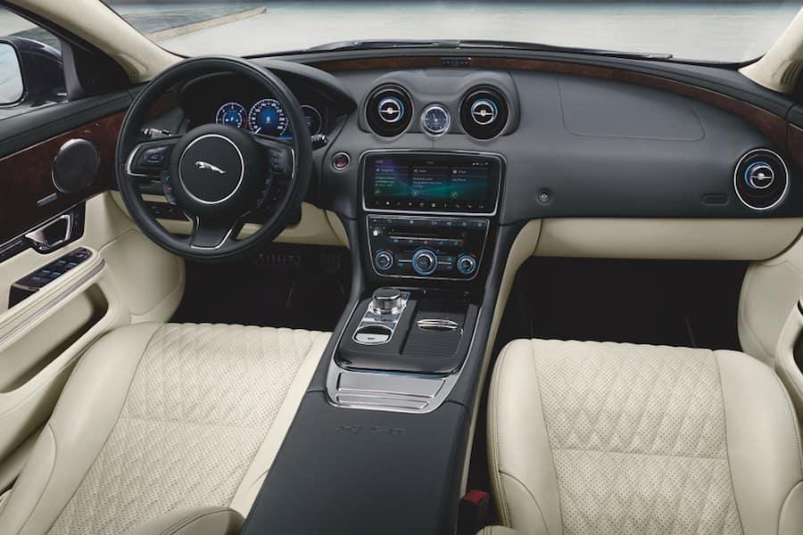 Jaguar XJ Interior Technology Features