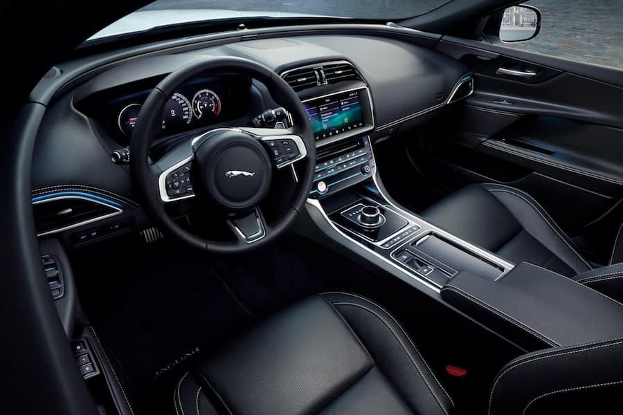 Jaguar Interior Cab Space