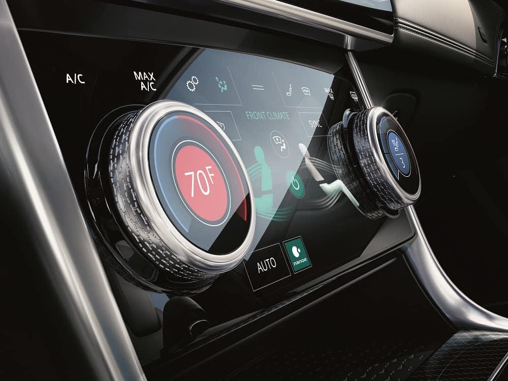 Jaguar XE Interior Features