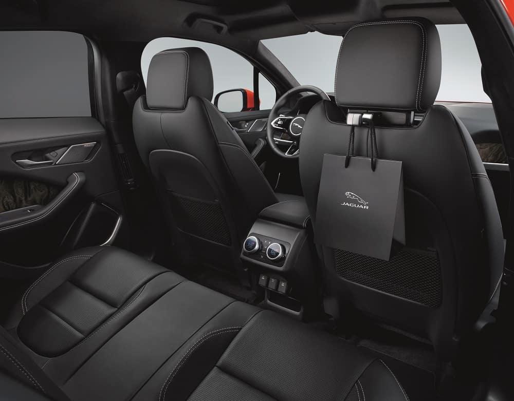 Jaguar I-PACE Interior Black Leather