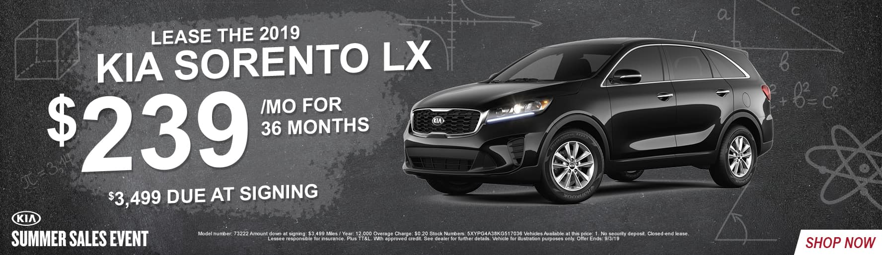 2019_Kia_South_Austin_Sorento_LX_Lease_Offers