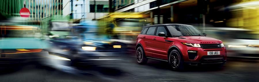 2018 Range Rover Evoque in Firenze Red