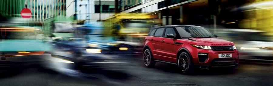 Range Rover Evoque in Firenze Red