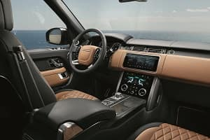 2018 Range Rover with Leather Interior