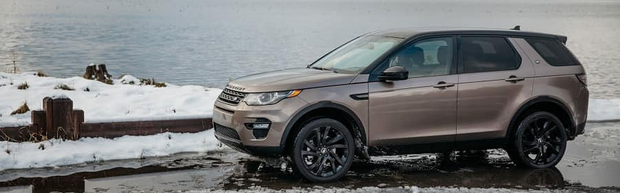Land rover discovery sport banner