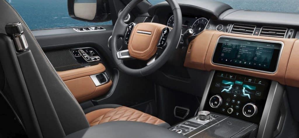 2019 Range Rover interior