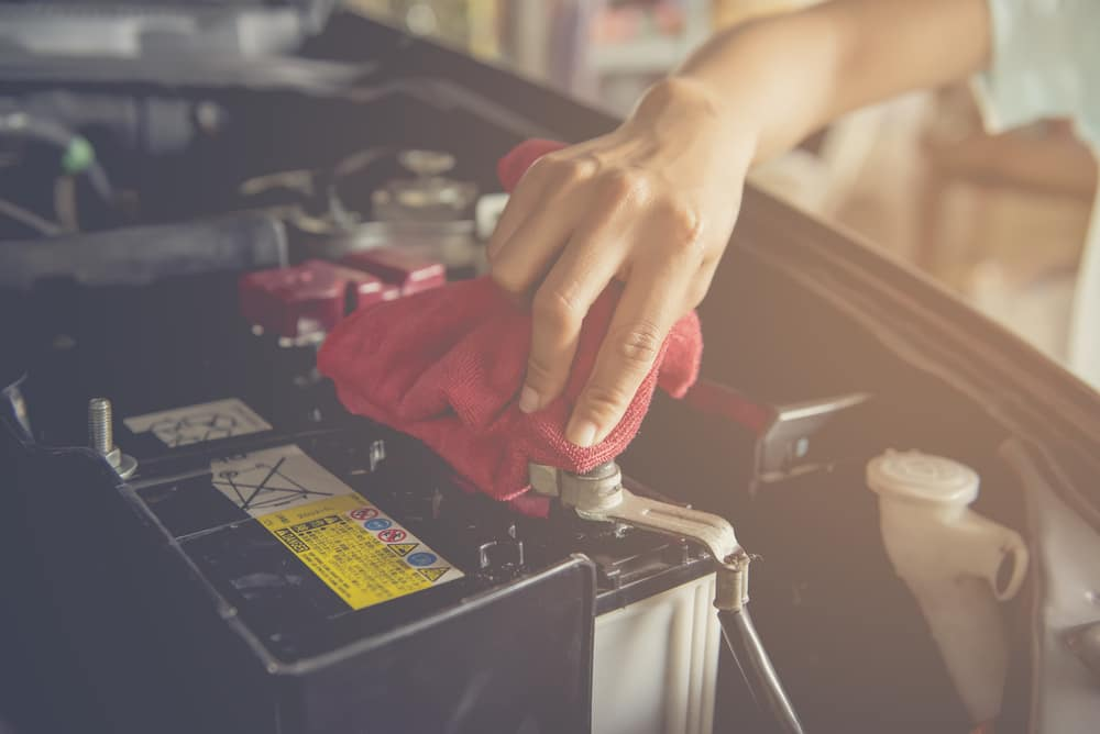How to clean Corrosion on Car Battery