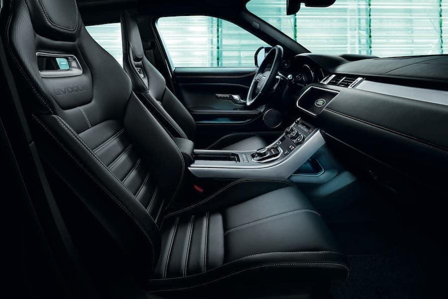 Range Rover Evoque Interior Dimensions