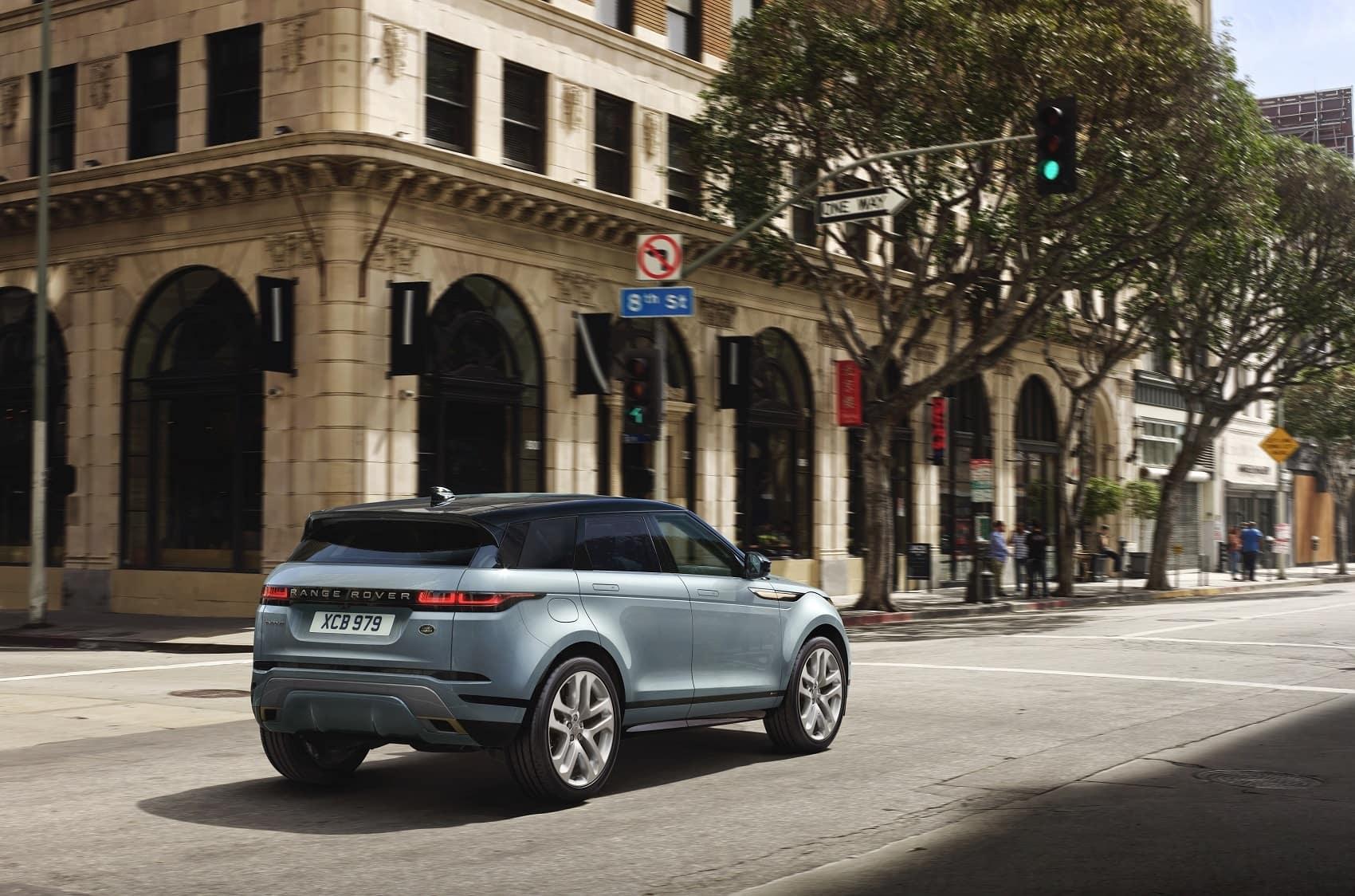 Range Rover Evoque Performance Features
