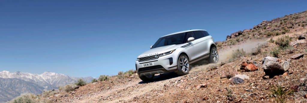 2020 Land Rover Evoque White