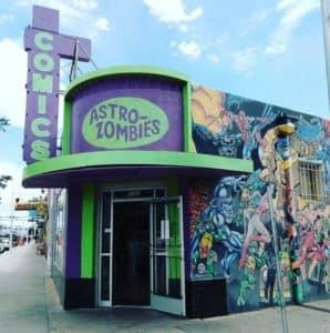 Astro-Zombies Comics