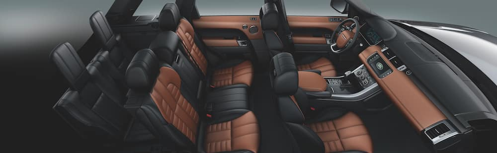 2020 Range Rover Sport Seating