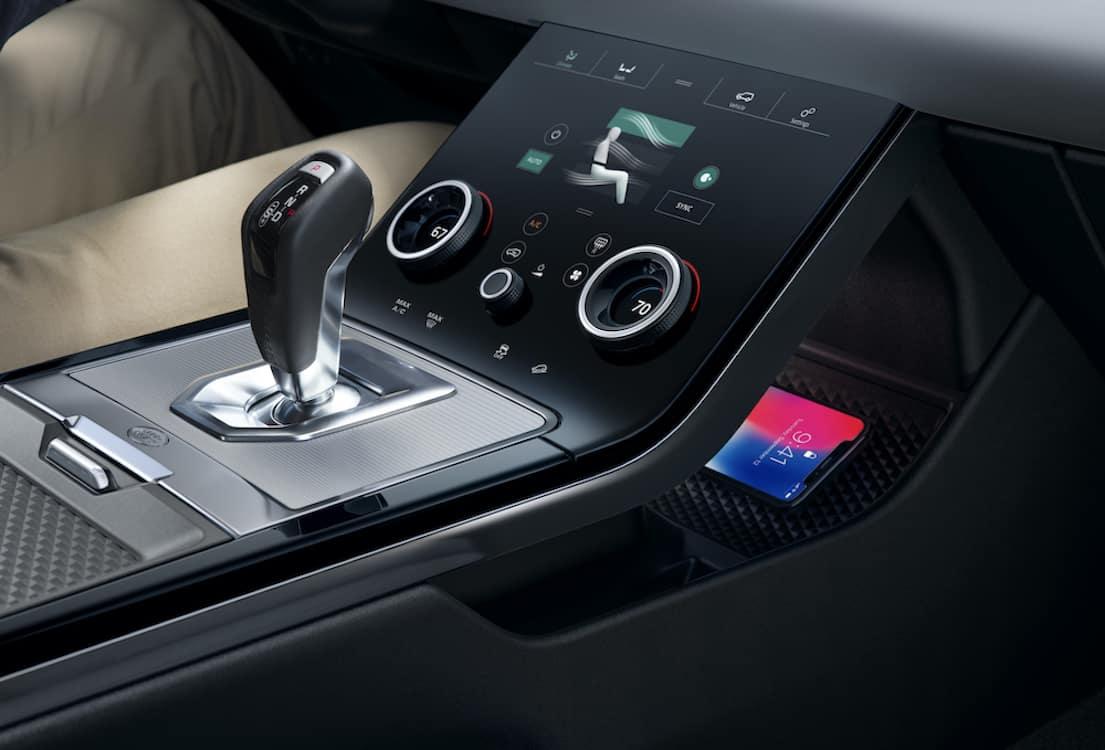 2020 Range Rover Evoque Infotainment System