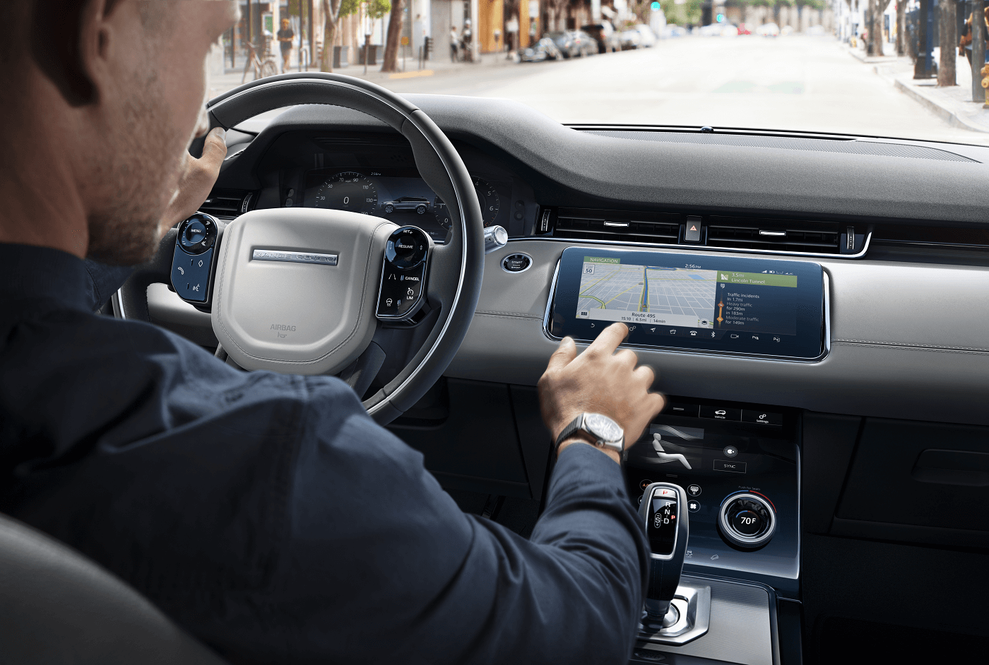 Range Rover Evoque Safety