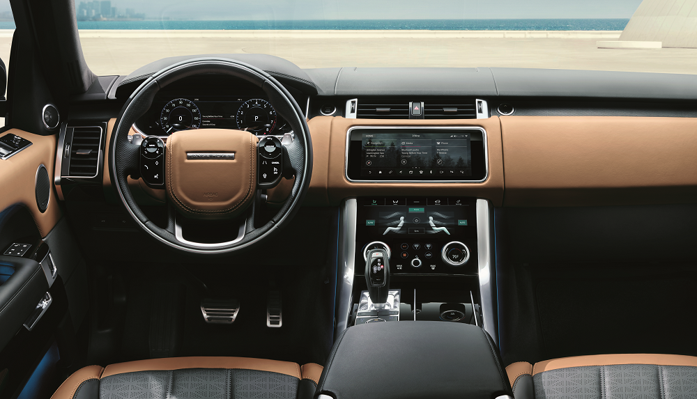 Land Rover Sport Technology