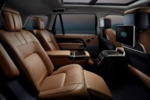 2018 Range Rover Interior Luxury