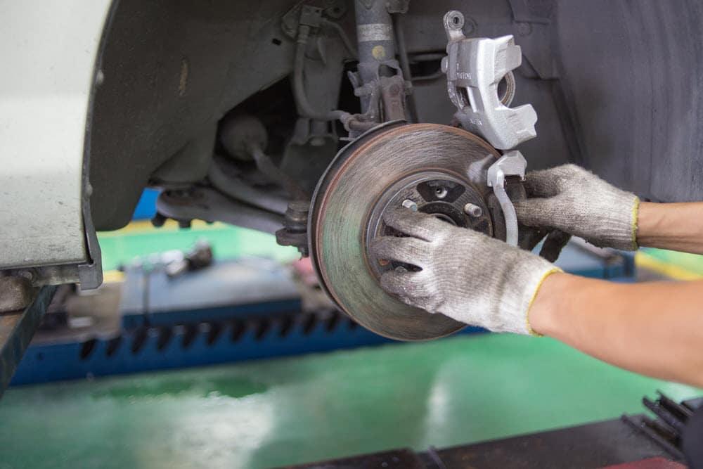Changing Break Pads Land Rover Santa Fe, NM