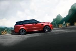 2018 Range Rover Sport in Firenze Red