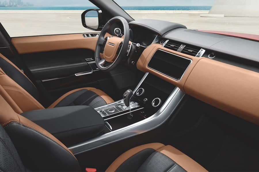 Range Rover Sport Interior Technology
