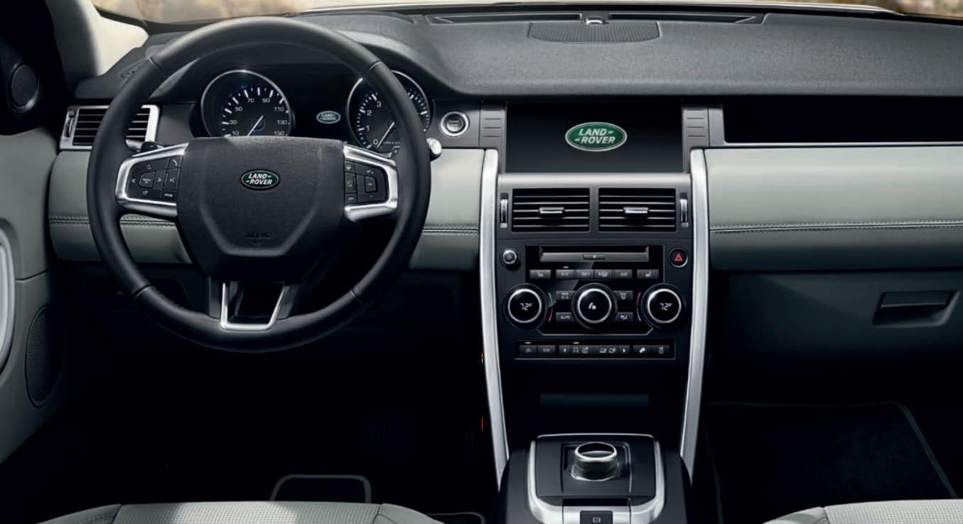2019 Discovery Sport interior