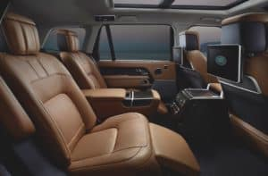 Range Rover Interior Leather Seats