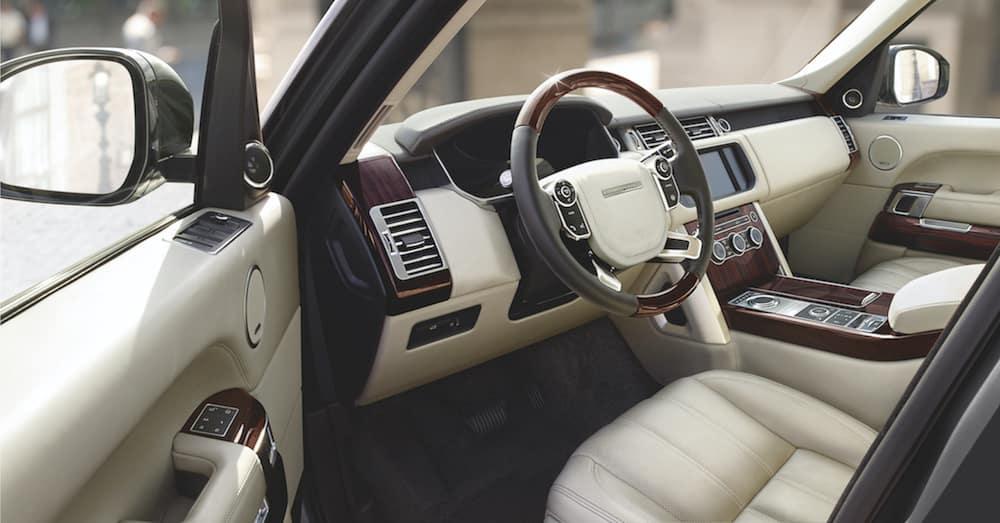 Range Rover Beige Interior