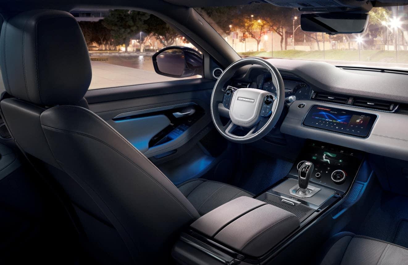 Range Rover Evoque Interior Technology