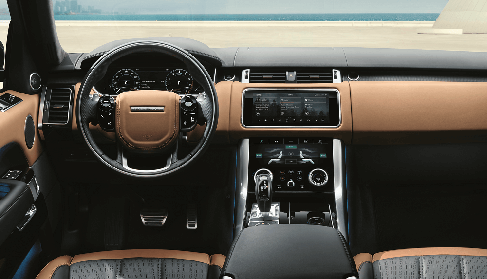 Land Rover Disocvery Sport Technology
