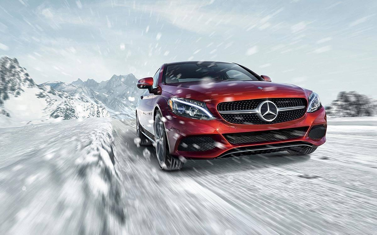2017-C300-Coupe Snow