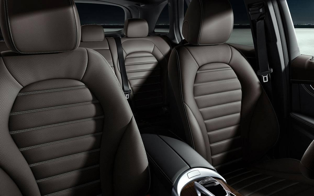 2017 GLC interior seats