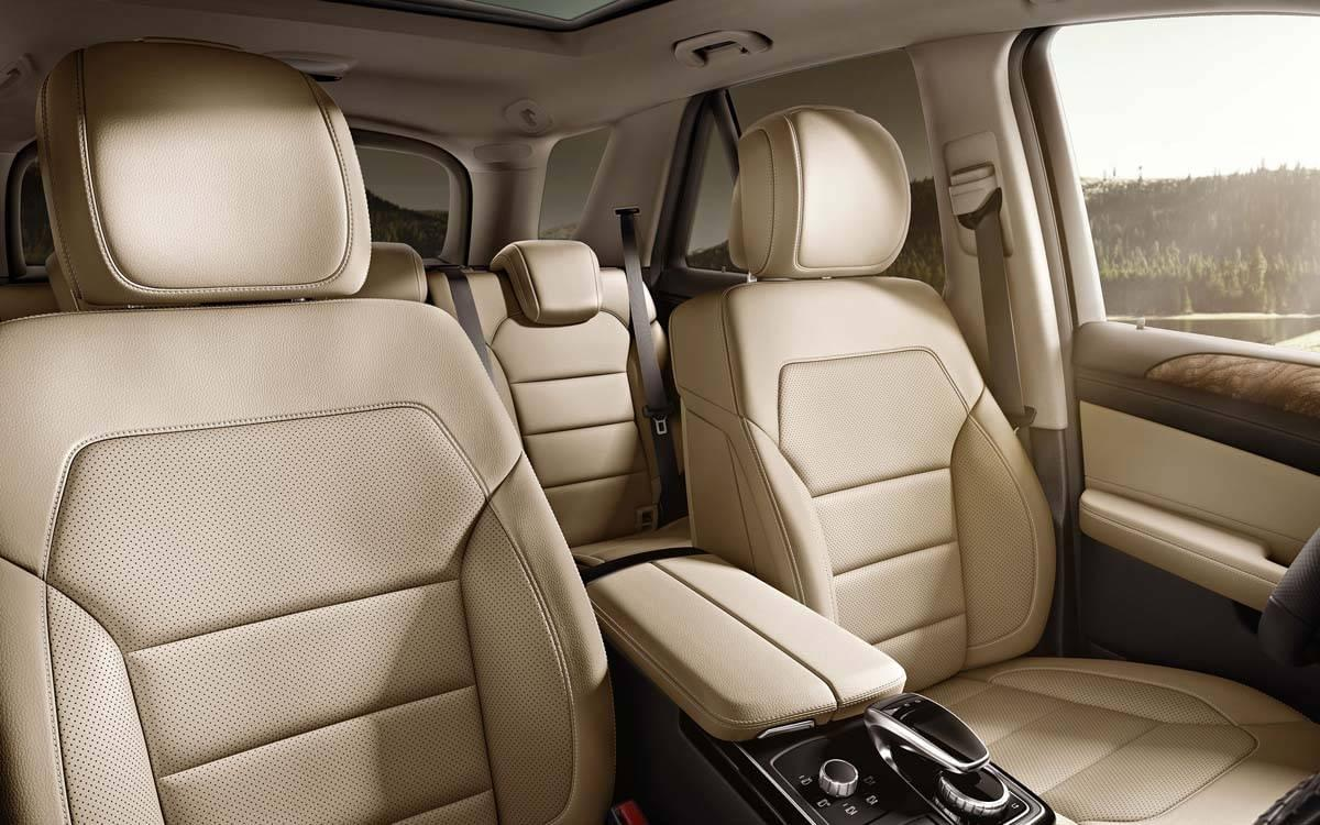 Mercedes-Benz GLE Leather Seats