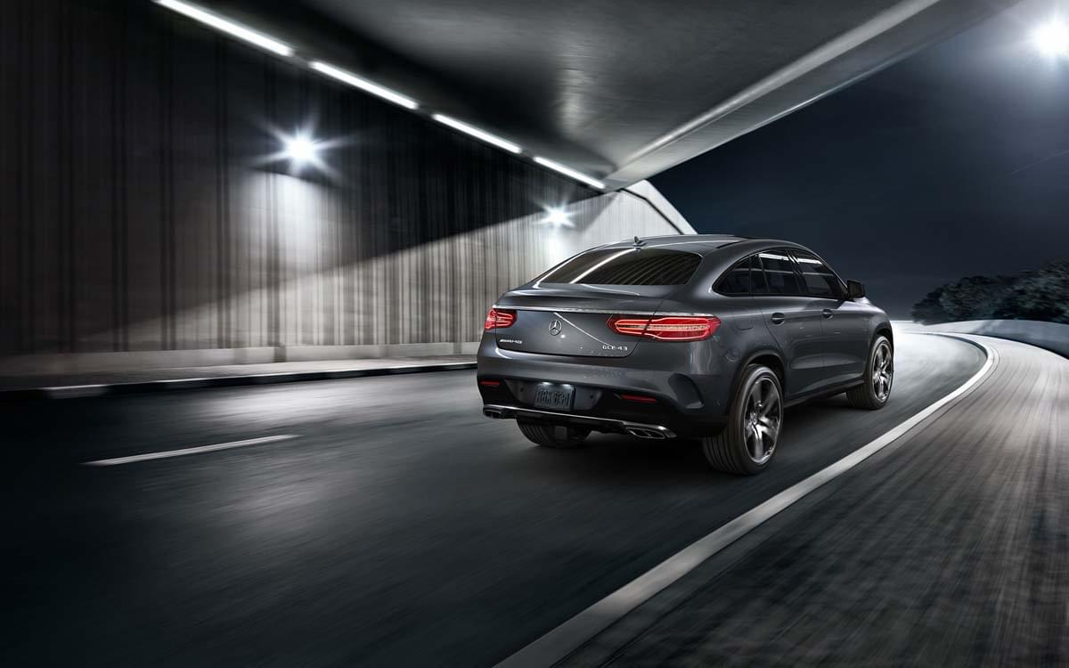Rear exterior of Mercedes-Benz GLE Coupe