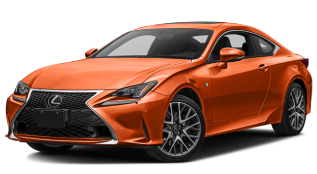 2017 Lexus RC 350 Orange