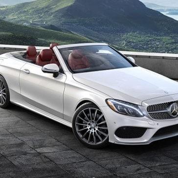 2018 Mercedes-Benz C-Class Top Down