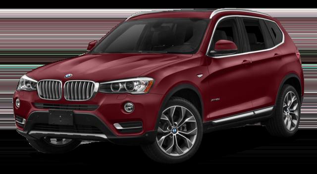 2017 BMW X3 Compare
