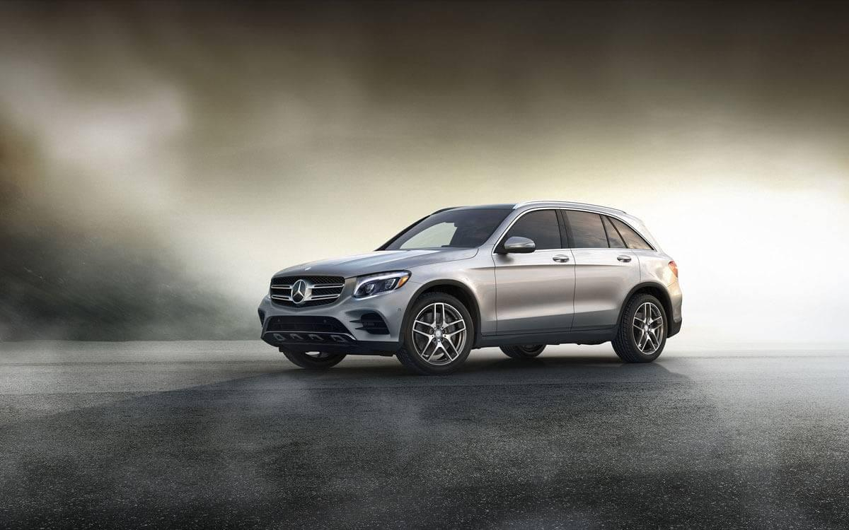 2017 GLC emerging from the mist