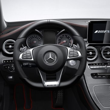 2018 Mercedes-Benz AMG GLC Interior