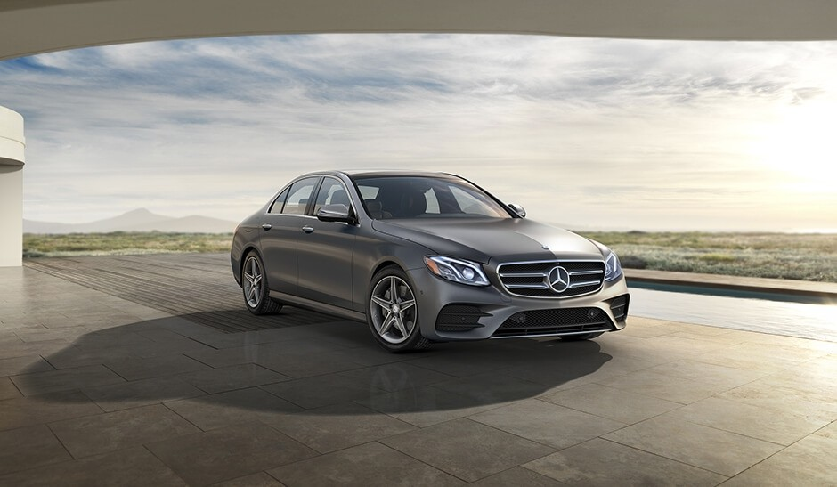 2018 Mercedes-Benz E Class Sedan Front View