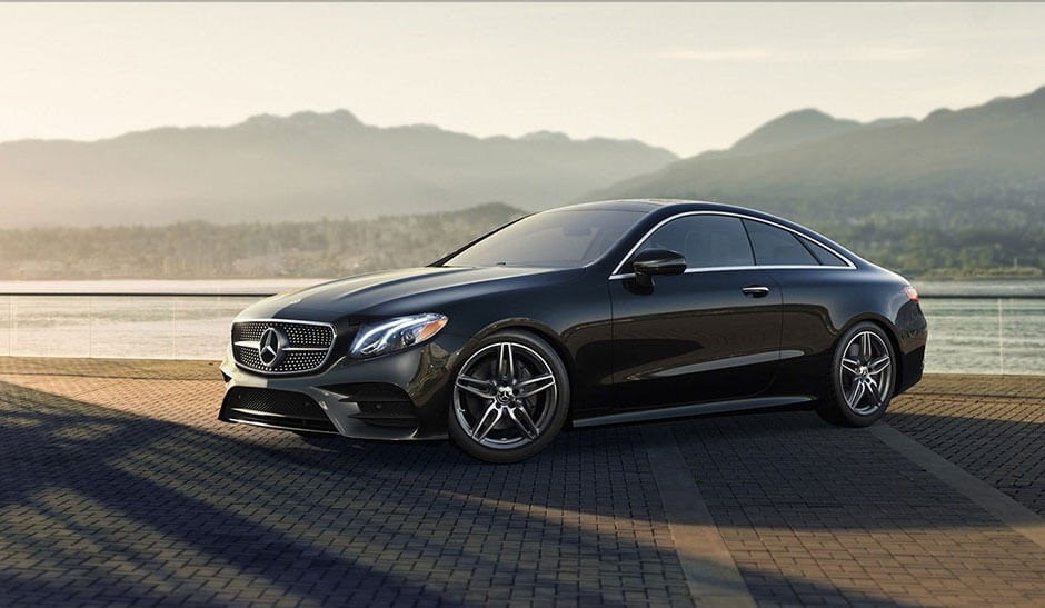 2018 Mercedes-Benz E Class Coupe Mountains