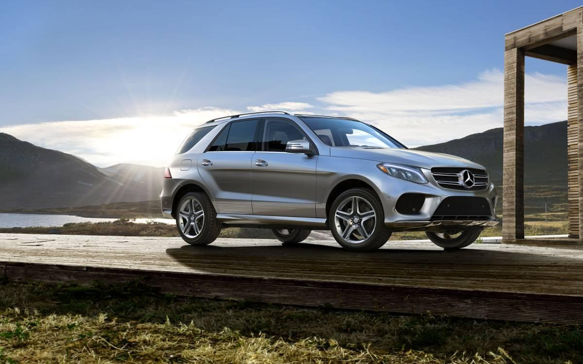 Grey Metallic Mercedes-Benz GLE350