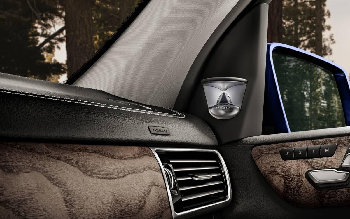 Mercedes-Benz GLE Bang & Olufsen Sound