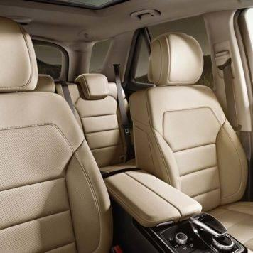 Mercedes-Benz GLE Leather Seating