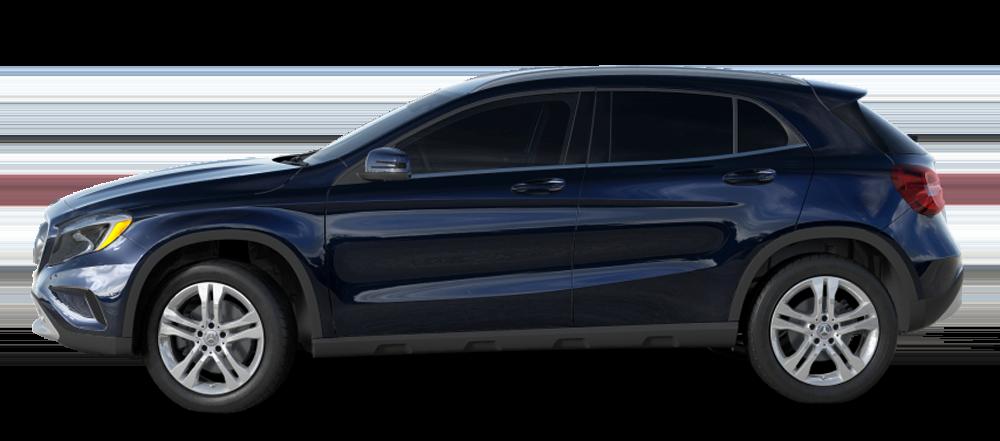2017 mercedes benz gla mercedes benz of beverly hills for Mercedes benz lunar blue