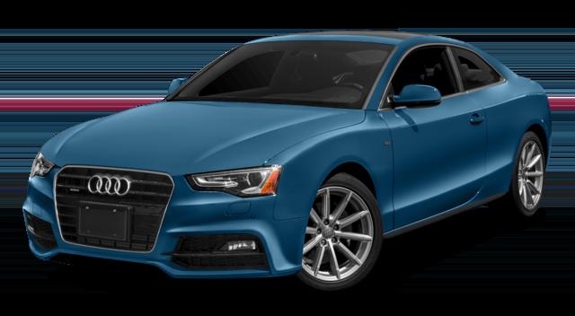 2017 Audi A5 Blue