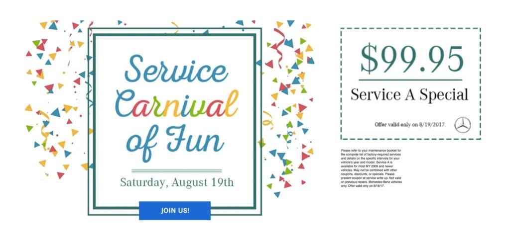 Service Carnival of Fun