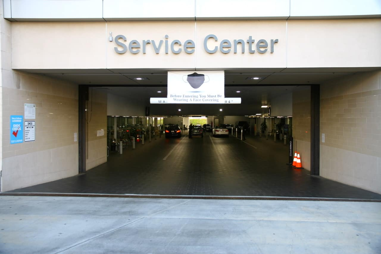 Service Waiting Area