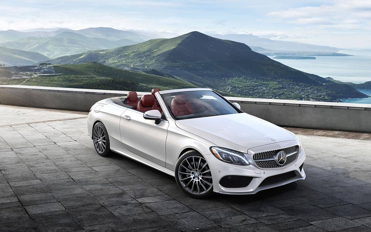 2017-C300-Cabriolet White